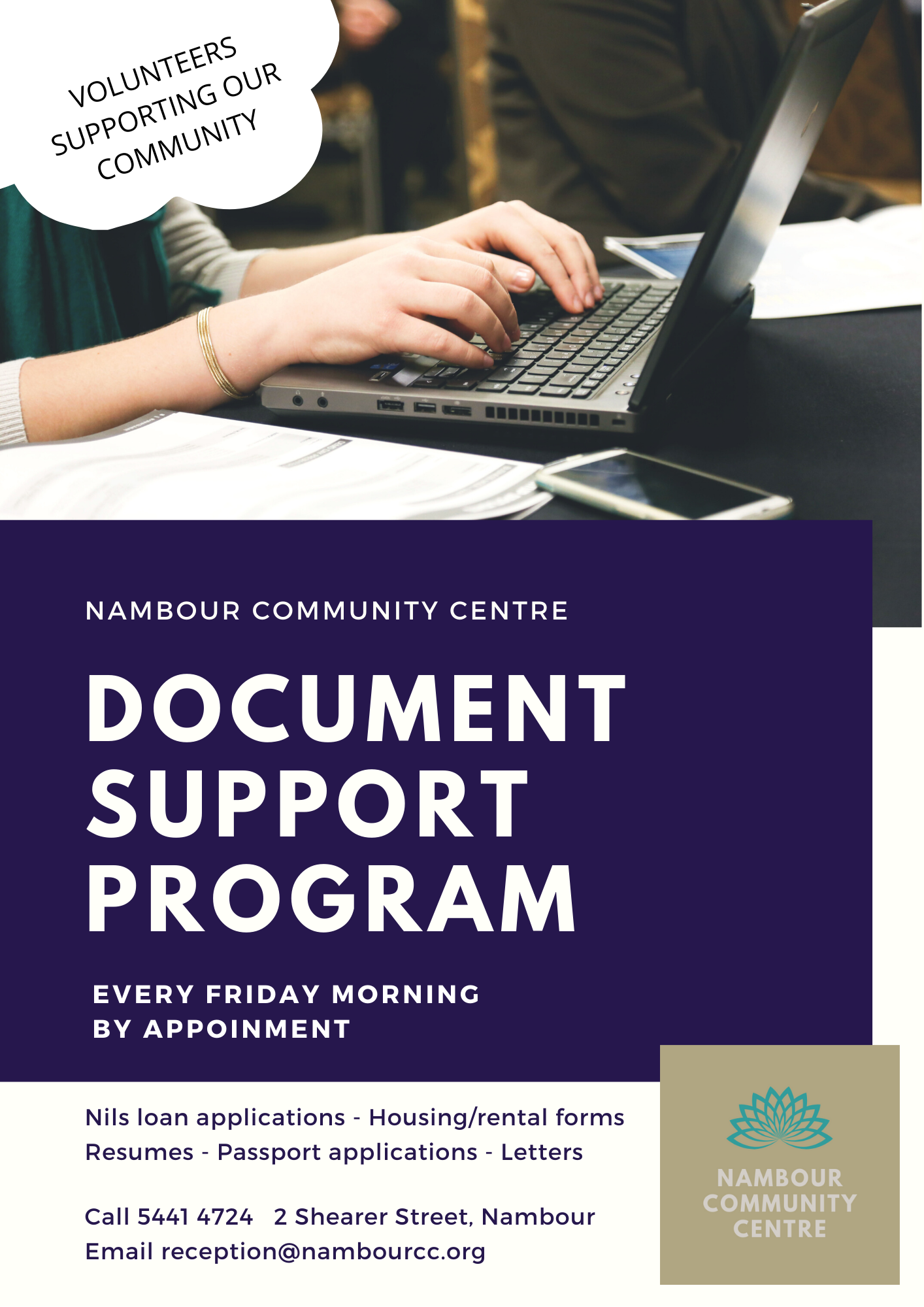 Document support