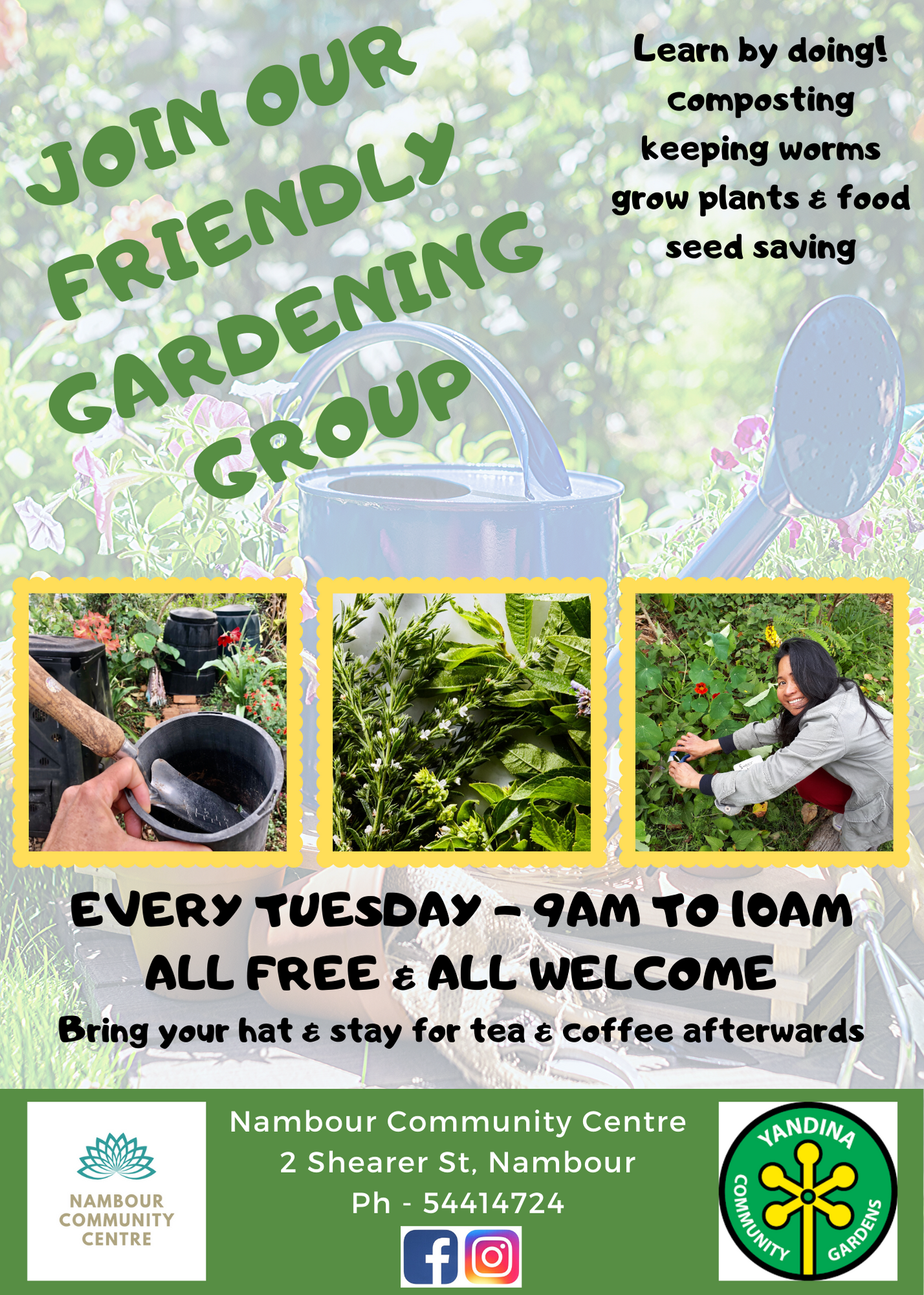 Gardening group Flyer